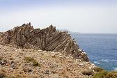 Rock Formation of Agios Pavlos — Stock Photo