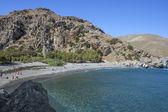 Lagoon near Preveli, Crete — Stock Photo