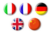 Foreign language — Stock Photo