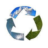 Recycle please — Stock Photo