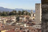 The medieval town of Bergamo — Foto de Stock