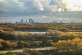 Autumn skyline of The Hague City — Stock Photo