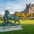 Sculpture at Jardin des Tuileries — Stock Photo