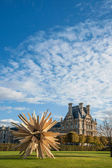 Exhibition of Sculptures at Jardin des Tuileries — Stock Photo