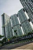 Pinnacle building in Singapore — Stock Photo