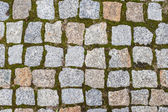 Stone block pavement street texture — Stock Photo