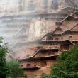 Stock Photo: Maiji Caves in Gansu.