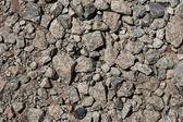 Gray pebble stone background — Stock Photo