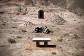 Graves near Jiayuguan Pass in China — Stock Photo