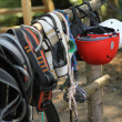 Climbing equipment — Foto de Stock
