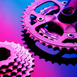Bicicle Pinions and Chains — Stock Photo #14618107