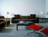 Apartament nowoczesny salon — Zdjęcie stockowe