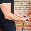 Stockfoto: Muscle MPulling Orkus Carry