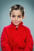 Funny Kid Smiling — Stock Photo