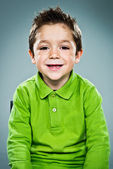 Funny Kid Smiling — Foto Stock