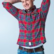 Young Robust Casual Man — Stock Photo