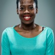 Young Happy Black Woman Smiling — Stock Photo #23249940