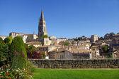 Large view on Saint Emilion village — Stock Photo