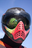 Paintball – Head shot — Stockfoto