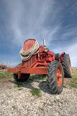 Eski traktör — Stok fotoğraf
