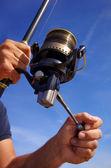 Carrete de pesca — Foto de Stock