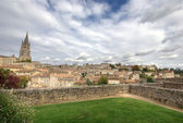 Large view on Saint Emilion — Stock Photo
