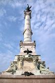 Aux girondins anıtı — Stok fotoğraf