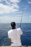 Big game fishing — Stock Photo
