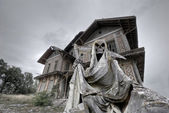 Haunted house — Stock Photo