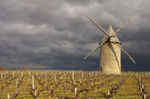 French windmill — Stock Photo