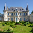 Stock Photo: Chateau Palmer, medoc, bordeaux, france