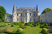Chateau Palmer, medoc, bordeaux, france — Stock Photo