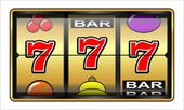 Gambling illustration 777 — Stock Photo