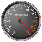 Performance meter — Stock Photo
