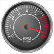 Stock Photo: Tachometer