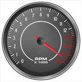 Motorbike Tachometer — Stock Photo