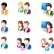 Various Glossy IconSet 3 — Stock Vector #14130370