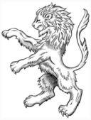 Lion Sketch — Stock Vector