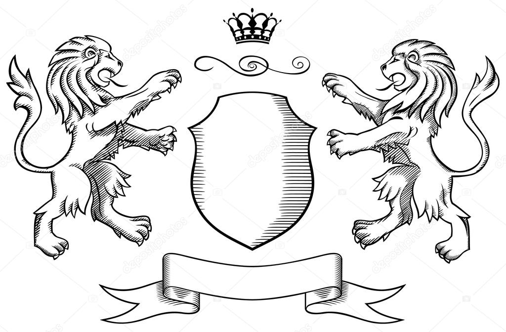 escudo dos leones: