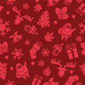 Boże Narodzenie bezszwowe wzór — Wektor stockowy