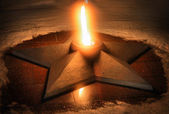 A quenchless flame — Stock Photo
