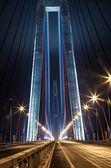 Bridge on the Russian island — Stock Photo