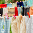 Stock Photo: Washed clothes