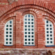 Window and aged brick wall — Stock Photo #14777815