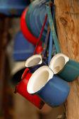 鉄コーヒー ポット — ストック写真