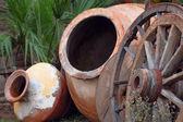 Earthenware vase — Stock Photo