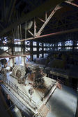 Old electricity equipment factory — Foto Stock