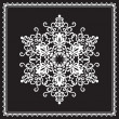 White snowflake — Stock Vector #14437163