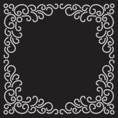 Jewelry frame — Stock Vector