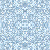 Swirly seamless pattern — Stock Vector